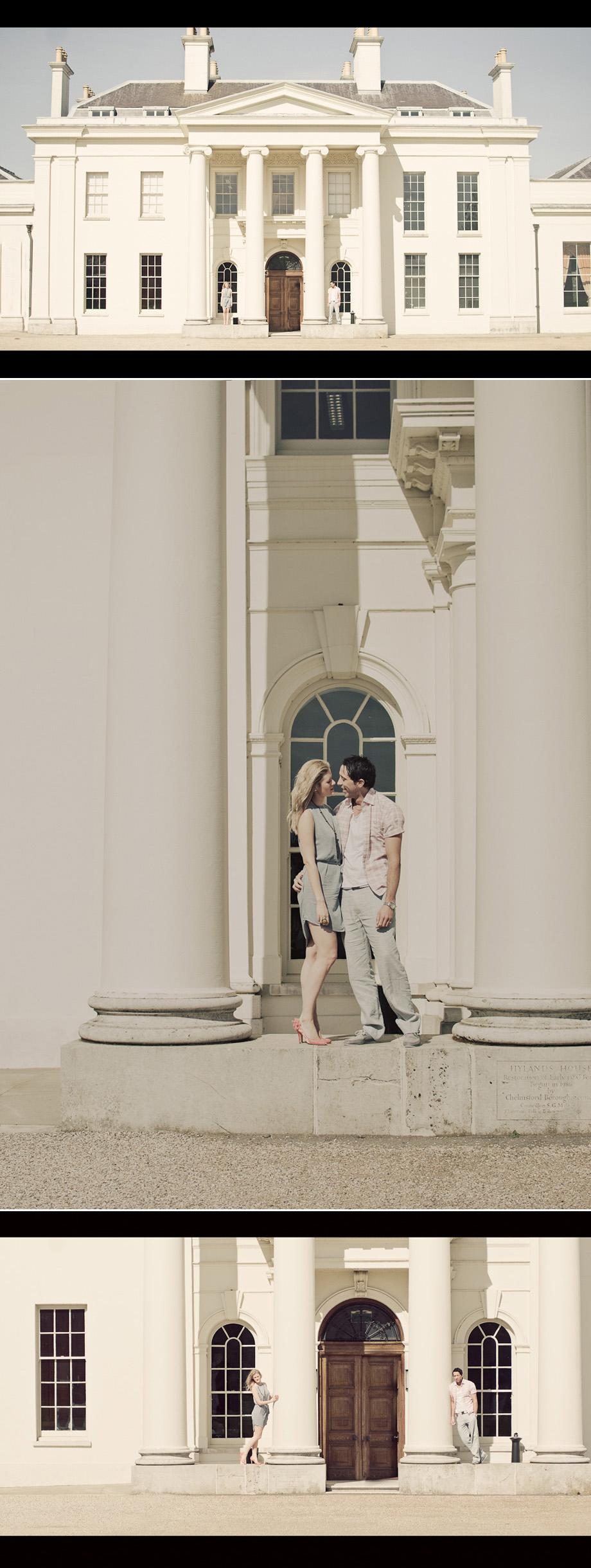 A Pre-wedding shoot at Hylands House