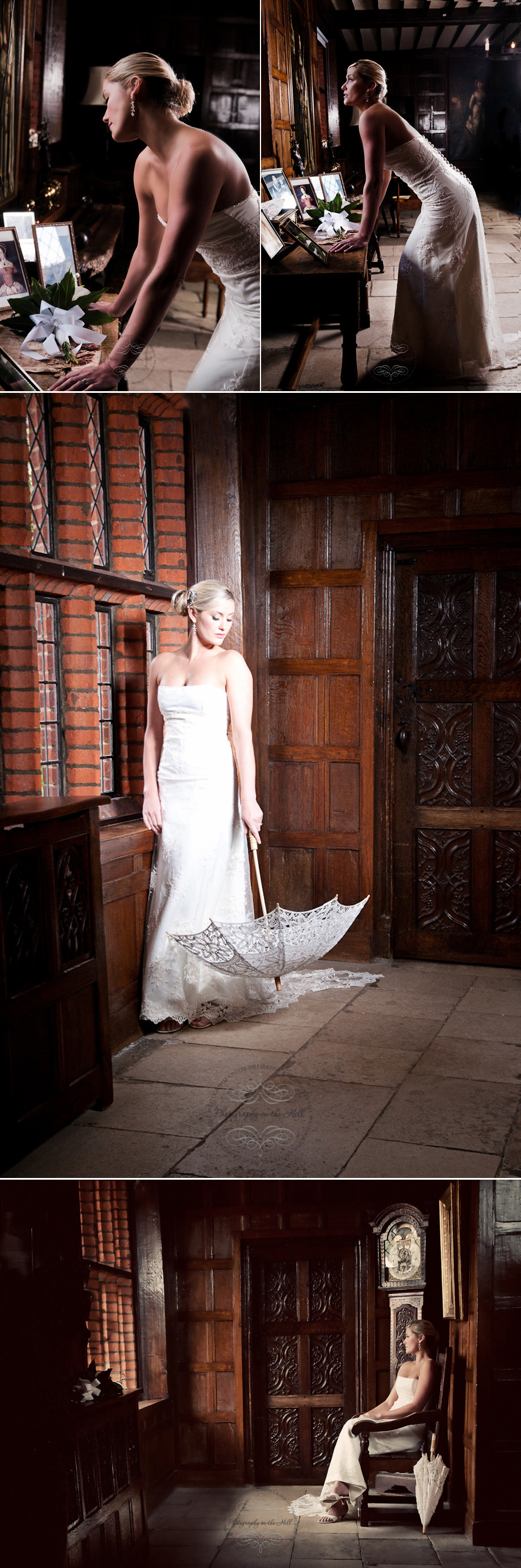 Bridal portraits at Essex wedding venue