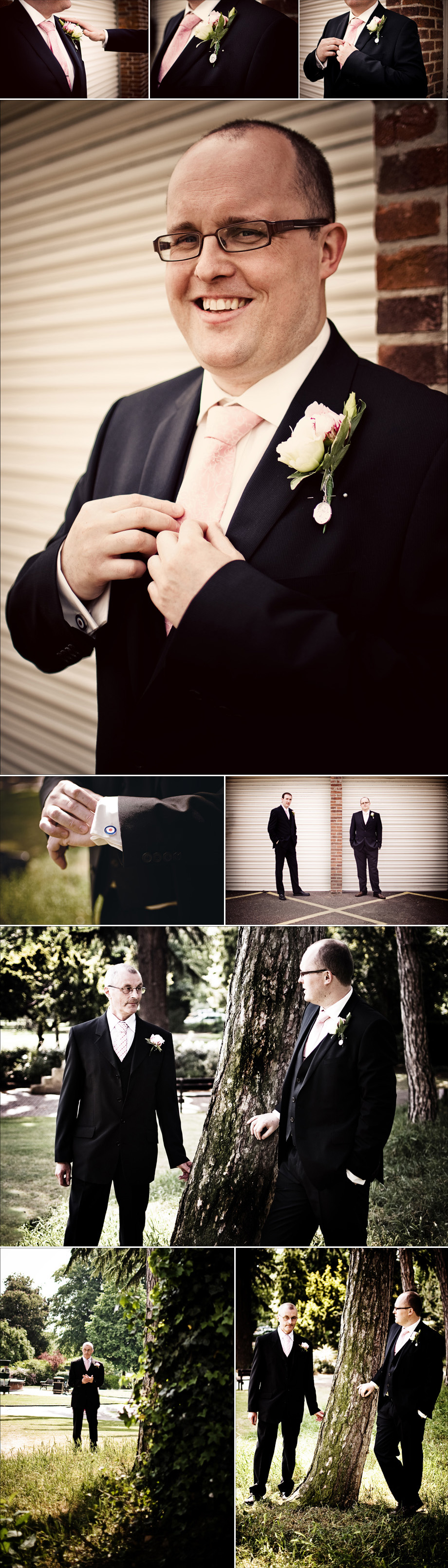Photos of groom from wedding