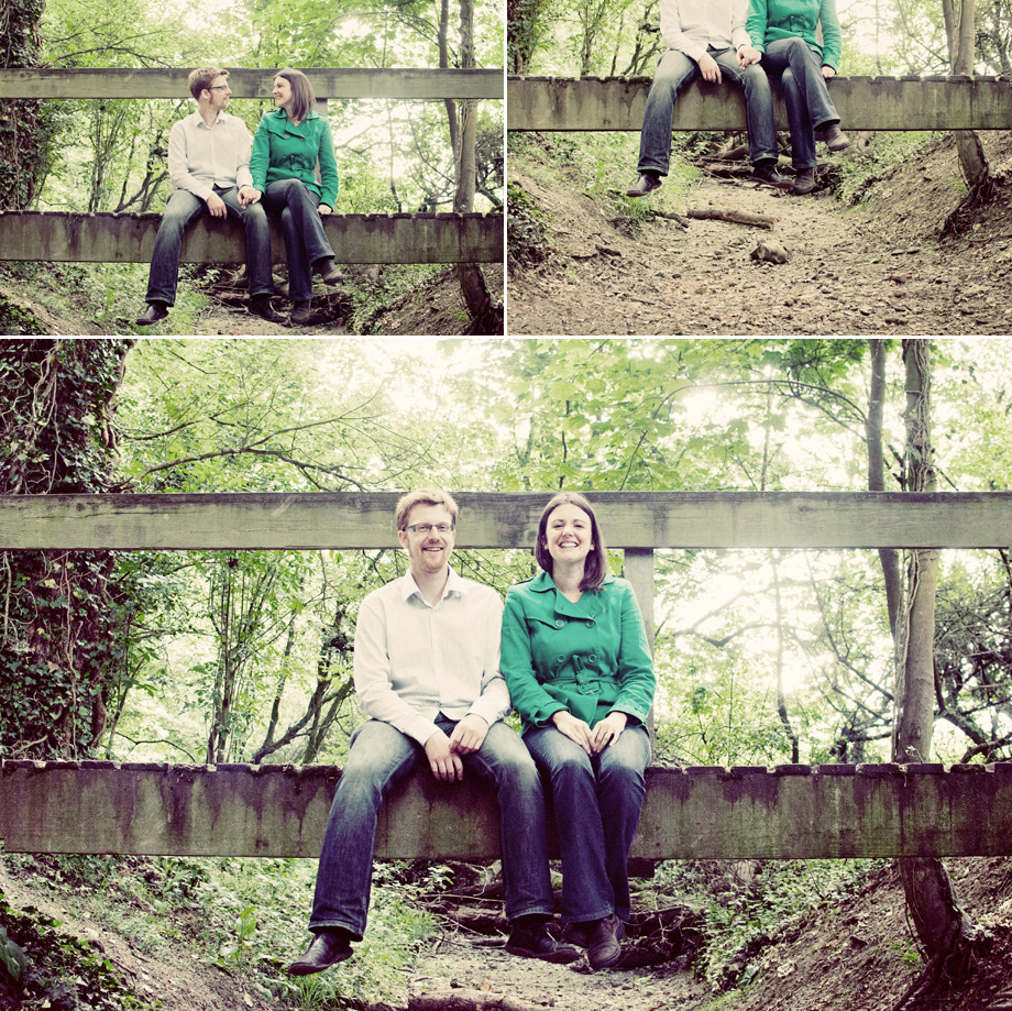enfield and essex pre-wedding portraits in the woods
