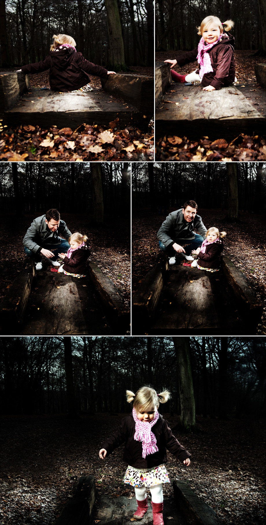 fun family portraits in Trent Park, Enfield