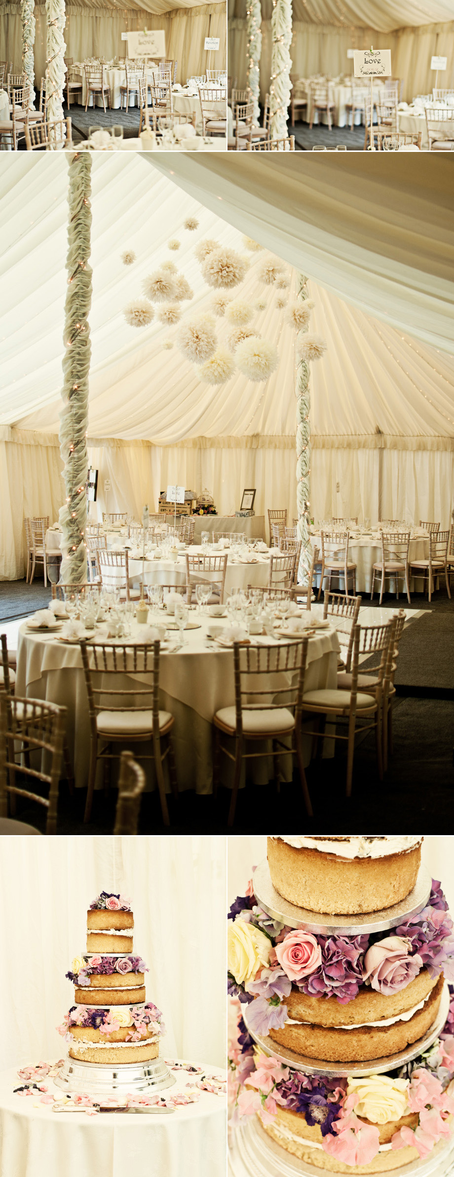 Great Prestons wedding marquee