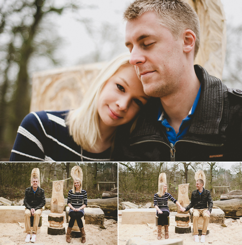 Cockfosters Engagment Wedding portrait