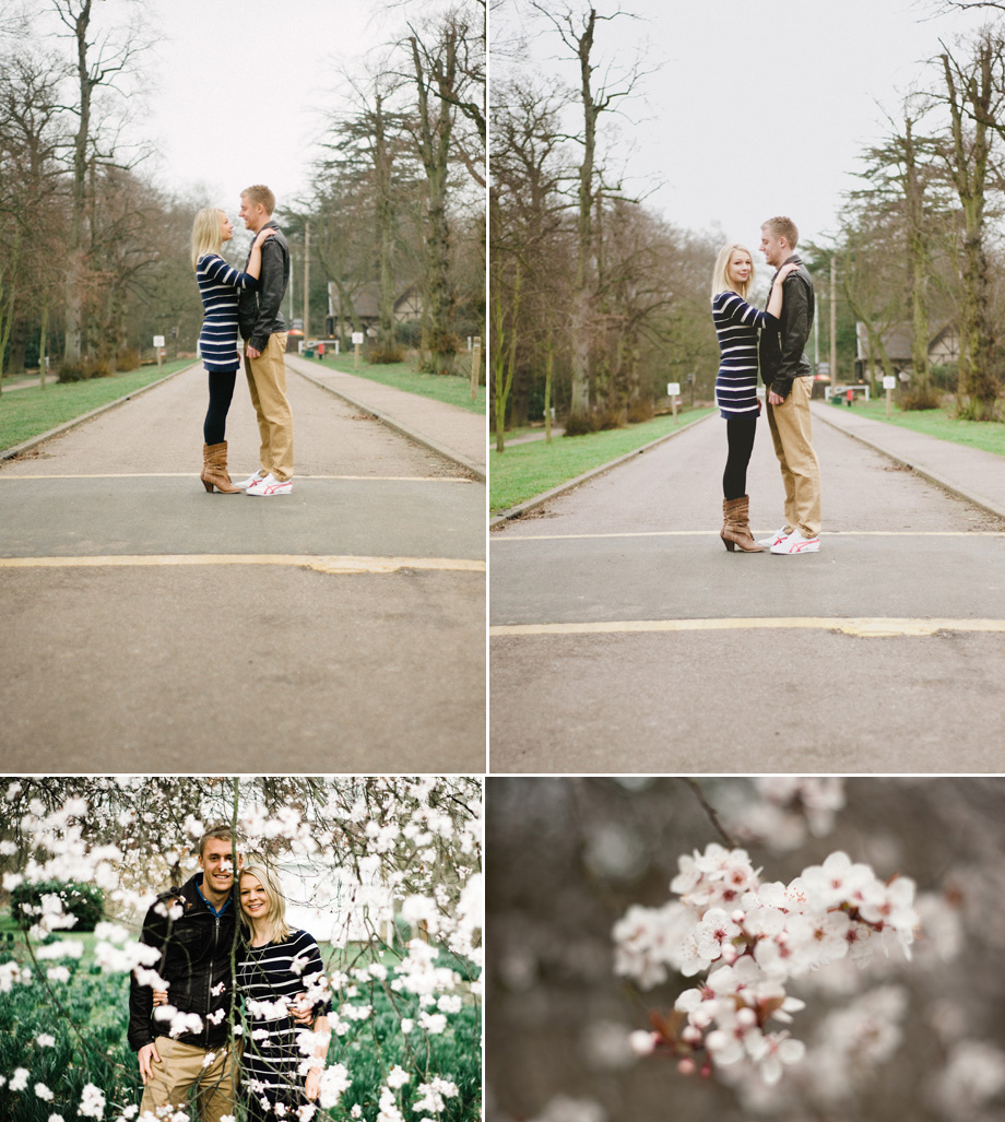 North London Spring pre-wedding portraits