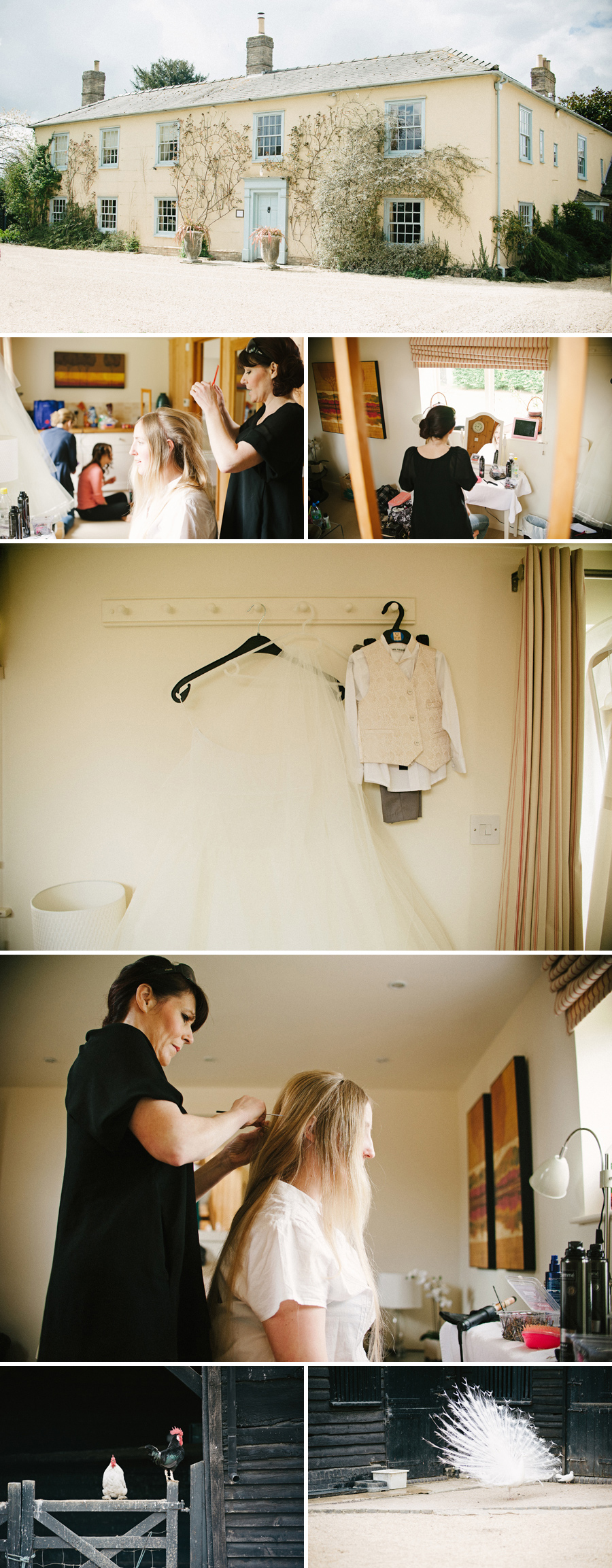 South Farm bridal preparation
