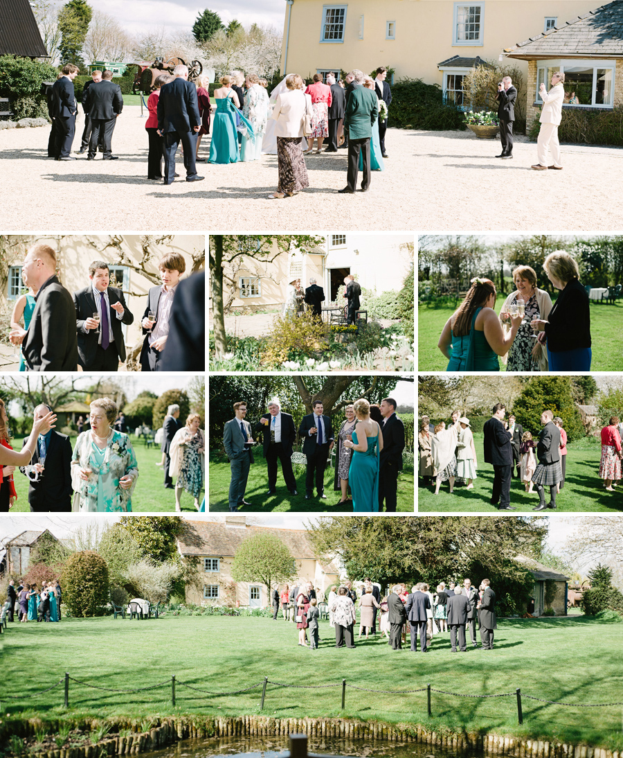 A wedding reception in Hertfordshire