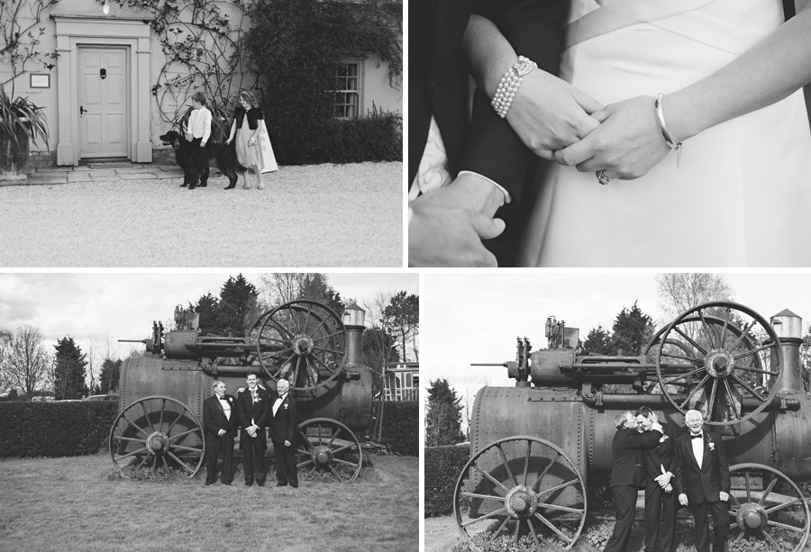 Reportage and candid wedding photography near Cambridge