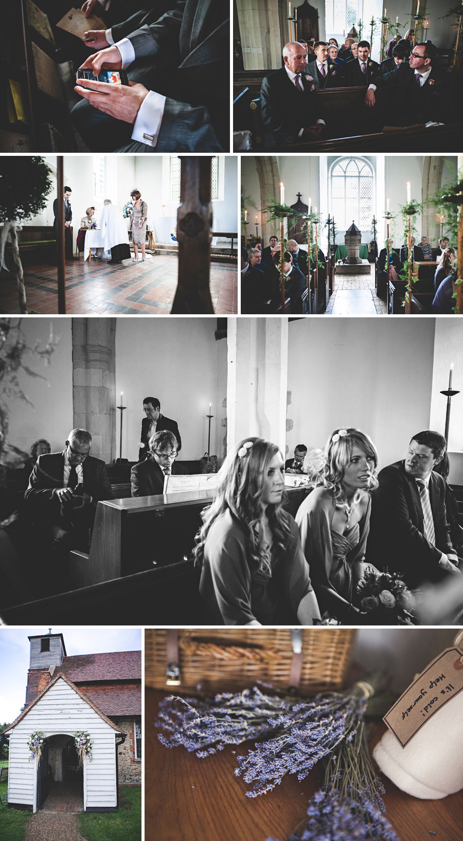 St Mary's Church Buttsbury marriage ceremony