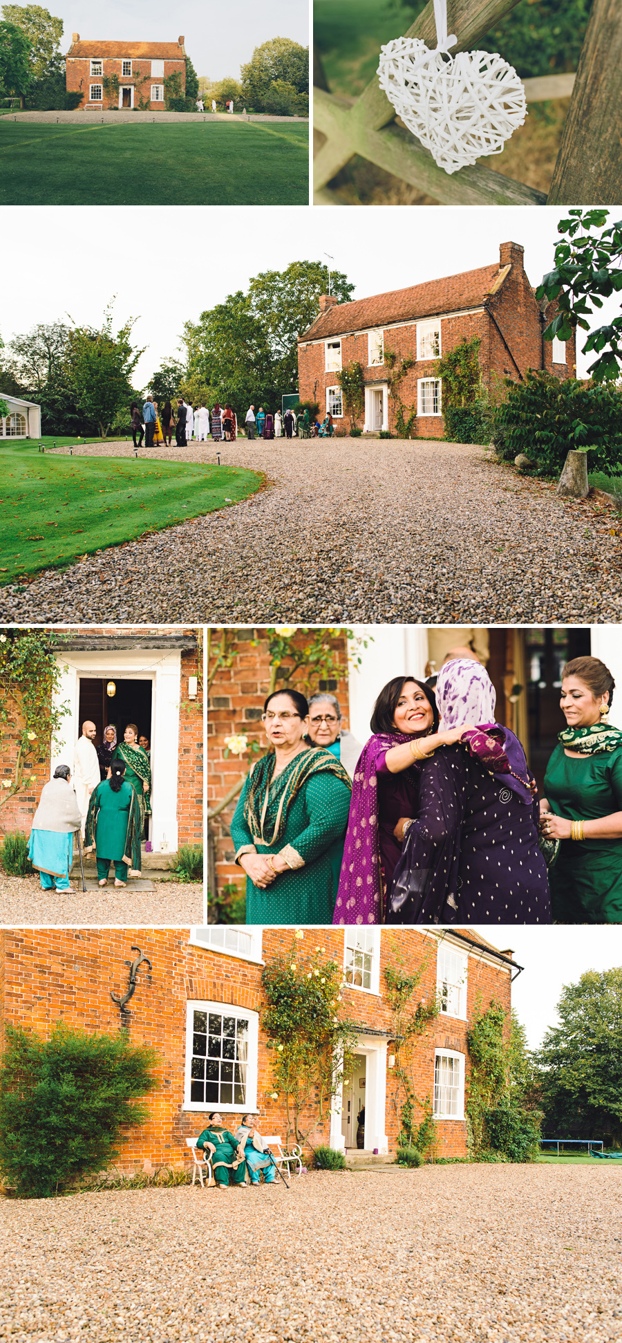 Great Prestons mehndi guests arriving