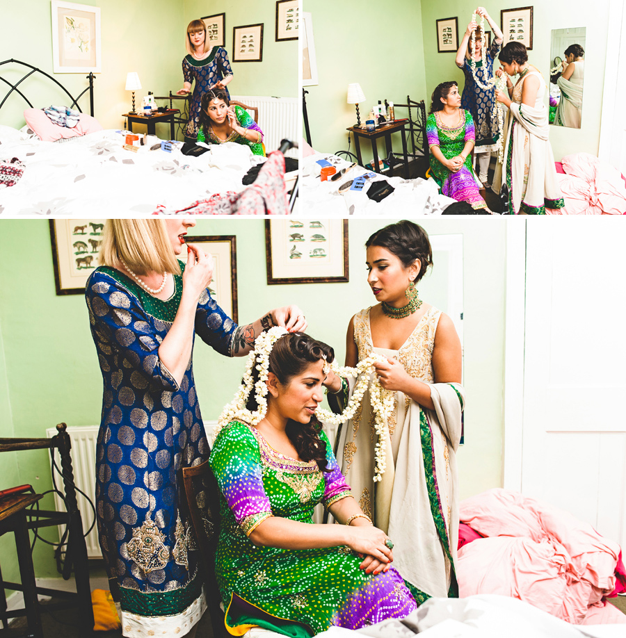 Asian wedding photographer mehndi photos