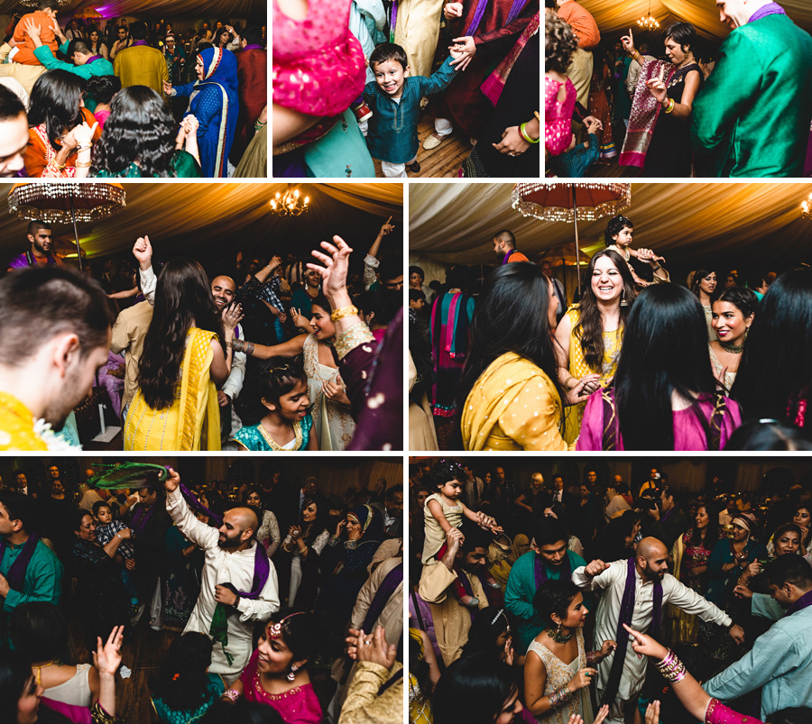 London Asian wedding dancing