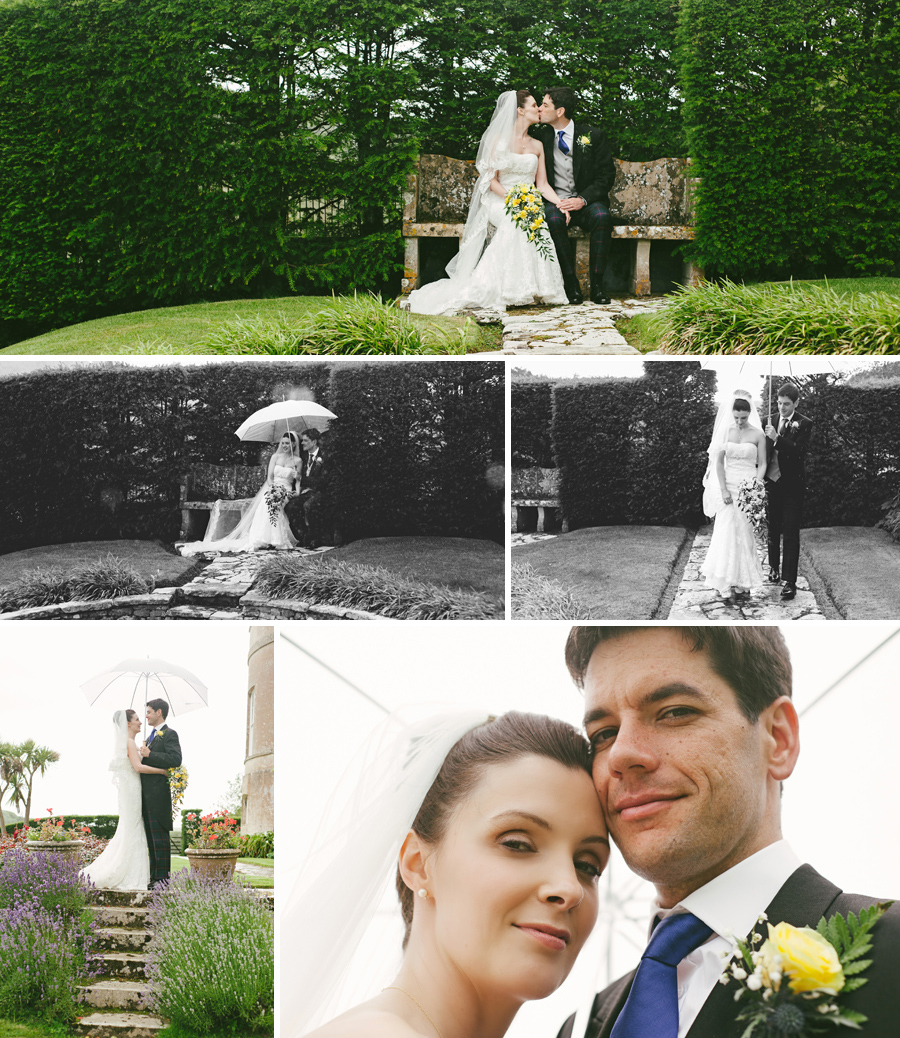 Penrice Castle Wedding portraits