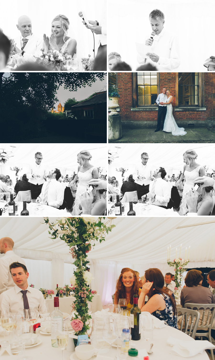 Capel Manor wedding reception